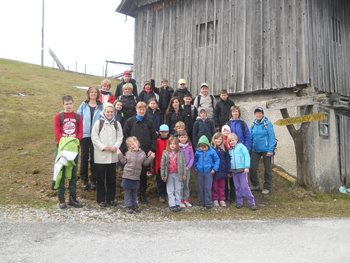 Srečanje mladih planincev na Žavcarju