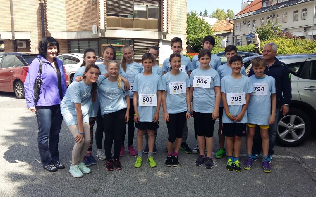 Sodelovanje na 4. UNESCO teku mladih