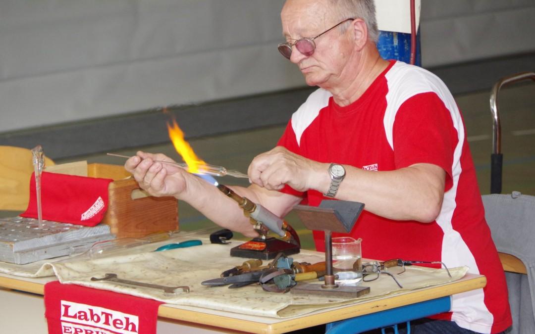 Tehniški dan – steklopihaška delavnica
