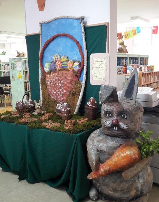 Velikonočna razstava v knjižnici Lenart