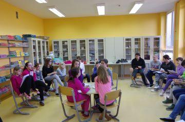 Usposabljanje vrstniških mediatorjev