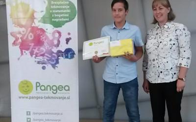 Svečana podelitev nagrad za matematično tekmovanje Pangea