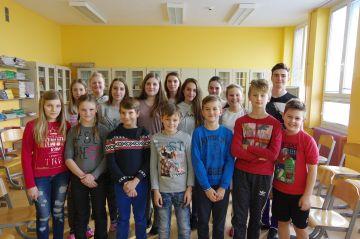 Zasedanje šolskega otroškega parlamenta